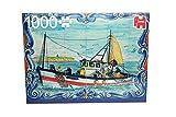 Jumbo Spiele 18542 - Puzzle Portugiesische Fliesen aus Ferragudo, 1000 Teile