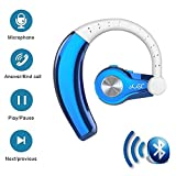 In Ohr Bluetooth Wireless Headset, TechCode T9 Sport Bluetooth Headset Wireless Freisprecheinrichtung Kopfhörer Bluetooth Kopfhörer mit Mic Noise Cancelling Wiederaufladbare Super Stereo Bass Headsets für iPhone 6/7/8 Plus, iPhone X, Samsung s8 / s9 Plus, iPad, Tablet PC und andere Bluetooth Gerät (T9-Grau)