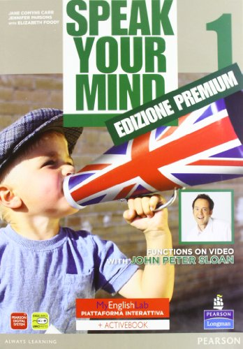 Speak your mind. My english laboratory. Student book-Workbook-Activity book. Con CD Audio. Con CD-ROM: 1