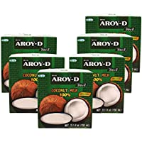 AROY-D Kokosnussmilch 17 -19% Fettgehalt, 6 x 150ml