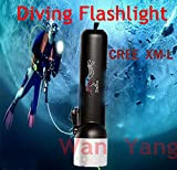 Generic White : Best Diving Flashlight L...