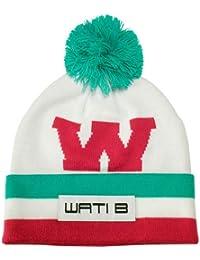Wati B - Bonnet Homme Big W Beanie - White/Pink