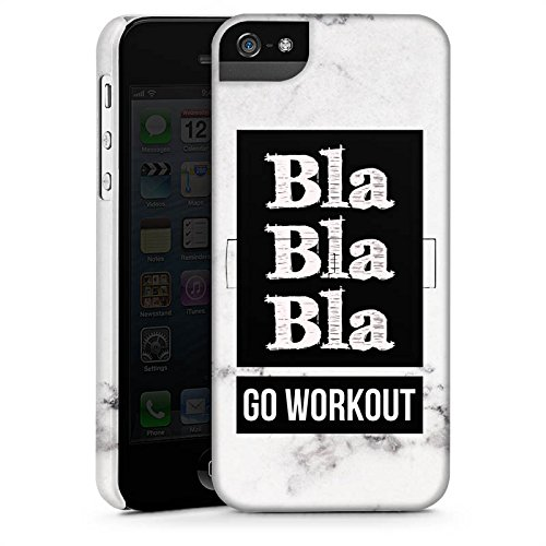 Apple iPhone X Silikon Hülle Case Schutzhülle Workout Fitness Spruch Premium Case StandUp