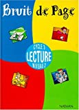Image de Bruits de page, CM1, élève, cycle 3, lecture, niveau 2