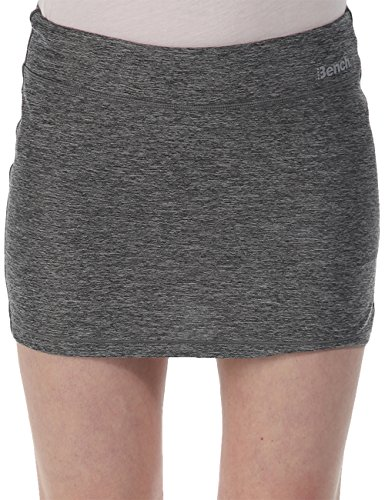 Bench Damen Rock mit Shorts Active Skort, Stormcloud Marl, L, BLLF0012
