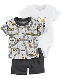 Carter s Pantalones cortos de 3 piezas para bebé-niños 9dc664c9cd70