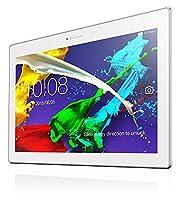 Lenovo TAB2 A10-30 10.1-Inch Tablet - (Pearl White) (Qualcomm APQ8009 Processor, 1 GB RAM, 32 GB eMMC Storage)