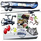 Leeda Sea or Coarse Spinning Fishing Kit Rod, Reel, Line 2XL complete fishing set for beginners or children to adults