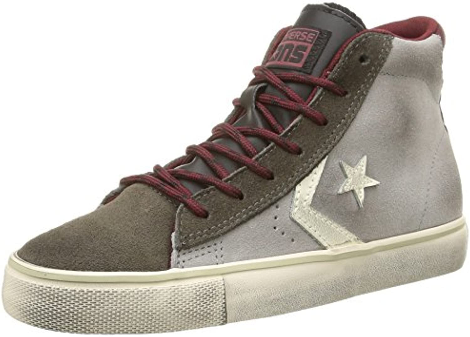 Converse Pro Leather VULC Mid Suede/LTH Unisex Erwachsene Pro Leather VULC Mid