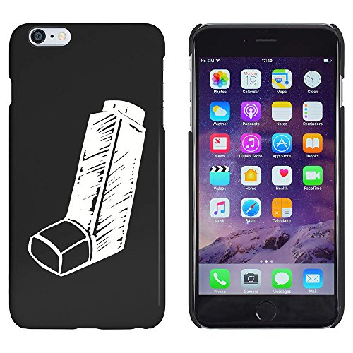 Azeeda Schwarz \'Medizinischer Inhalator\' Hülle für iPhone 6 Plus & 6s Plus (MC00149359)