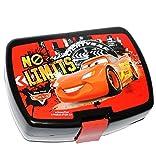 Lunchbox / Brotdose - ' Cars - Lightning McQueen ' - Brotbüchse - SUPERLEICHT - Küche Essen für Jungen - Kunststoff / Kinder Vesperdose - Brotzeitdose - Auto / Fahrzeug - Car Finn Francesco - Mc Queen Autos