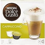 Nescafé Dolce Gusto Cappuccino - Paquete de 3 x 16 Cápsulas - Total: 48 Cápsulas