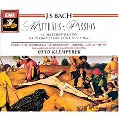 St Matthew Passion - Bach