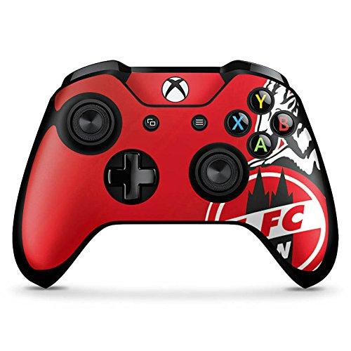 DeinDesign Microsoft XBox One X Controller Folie Skin Sticker aus Vinyl-Folie Aufkleber 1. FC Köln Fanartikel Fussball