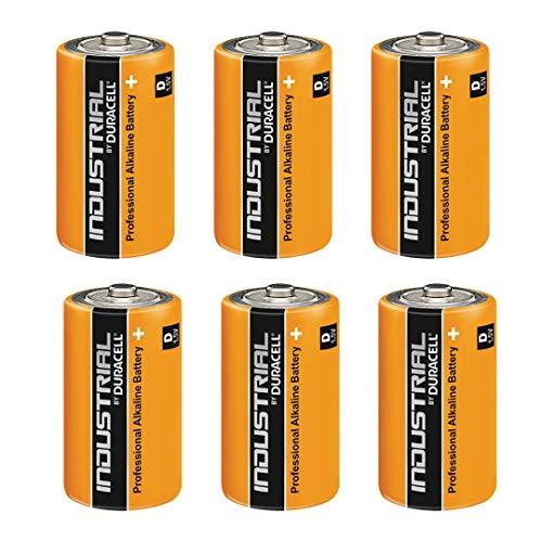 Duracell 6x Größe D Industrie Batterie Alkaline ersetzt Procell Verfallsdatum 2021
