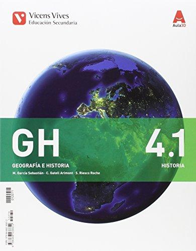 GH 4 (4.1-4.2)+ SEPARATA CAST-LA MANCHA (AULA 3D): 000002 - 9788468225692