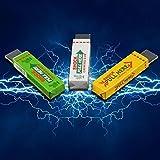 Sicheres, lustiges Elektroschock-Kaugummi von Danyoun, elektrisch schockendes Kaugummi-Spielzeug, Witz-Schock-elektrischer Kaugummi, am Kopf ziehen  für den lustigen Effekt, Partystreich (zufällige Farbe)