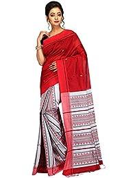 Tjsarees Cotton Silk Saree (Tj500052_Red_Free Size)