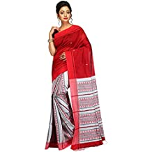 Tjsarees Cotton Silk Saree (Tj500052_Red_Free Size)