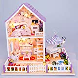 Imported DIY Wooden Dolls house Miniatur...