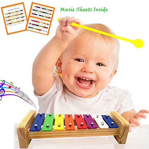 Pachock 23PCS Instrument de Musique pour Enfant, Les Enfants d'âge Préscolaire et Les Bébés Instruments de Percussion en Bois et Instruments avec Sac de Transport Img 4 Zoom