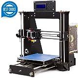 3D Printer Acrylic A8 (Y5) Desktop DIY 3D Printer Self-Assembly Prusa i3 Kit High Precision 3D Printers with LCD Screen 3d Printer Kit, Tigtak (Platform Size 220 * 220 * 240)