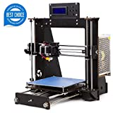 tigtak i3 Unassembled 3D Printer Kit DIY avec écran LCD 3D Printer Filament (200 * 200 * 180 mm)
