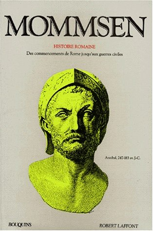 Mommsen, tome 1 : Histoire romaine
