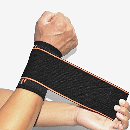 SOFIT-Wrist-Compression-Strap-and-Support-Wrist-Brace-with-Elastic-Bandage-Wraps-for-Weightlifting-Tennis-Tendonitis-Joint-Pain-Relief-and-Recovery-from-Injuries-One-Size-Adjustable