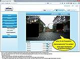 upCam Tornado HD PRO - IP Kamera mit Full HD 1080p SONY Sensor, Nachtsicht, Wetterfest für Außen (WLAN, App, SD Karte, Cloud, Weitwinkel, Outdoor IP Cam) - Deutscher Überwachungskamera Hersteller und Support -