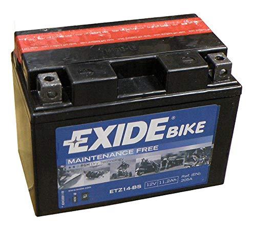 Exide etz14-bs batteria della moto-sostituisce ytz24-bs-12V 11.2Ah