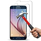 [2 Pack] Galaxy S6 Screen Protector, Anderw 0.26mm 9H Tempered Glass Screen Protector for Samsung Galaxy S6