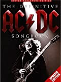 the definitive ac dc songbook edition mise a jour partitions pour tablature guitare