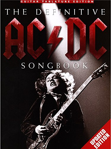 The Definitive AC/DC Songbook - Updated Edition Guitar Tab Sheet Music