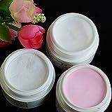 Generic Gold : NEW HOT 5pcs Acrylic Powder For Nail Art Tips UV Gel Glitter Set Kit 3 Colors M01429