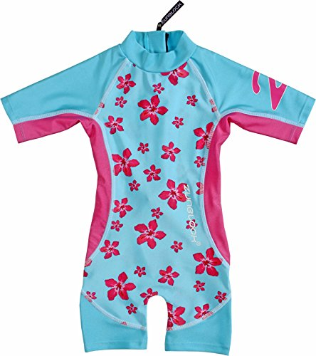 Zunblock Kinder Hawaii Uv Clothes, Turquoise, 122/128