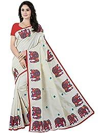 Rani Saahiba Art Silk Embroidered Saree