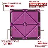 Coffret Junior Playmags 32 pièces + 6 accessoires Clickins