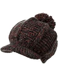 Sombrero de invierno de las mujeres sombrero de lana gruesa linda temperatura muy Gorro de lana ( Color : D )
