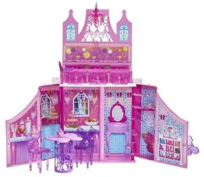 Barbie - Castillo del reino de las hadas, con accesorios (Mattel Y6855) de Mattel