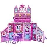 Barbie - Castillo del reino de las hadas, set de accesorios (Mattel Y6855)
