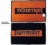 Jägermeister Handtuch Barhandtuch ca. 49x32cm -