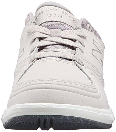 New Balance Women's WW813 Walking Lace Shoe, White, 10 D US Grey