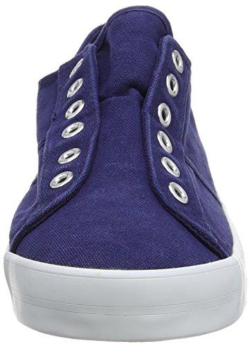 Sconosciuto - Laceless, Sneaker basse Donna Blue (Navy)