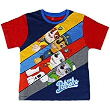 22-1945 Camiseta de algodón para niños motivo PAW PATROL de 2 a 6 años - 4 años