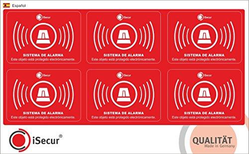 6-stuck-aufkleber-alarm-isecur-alarmgesichert-5x35cm-art-hin-237-hinweis-auf-alarmanlage-fur-haustur