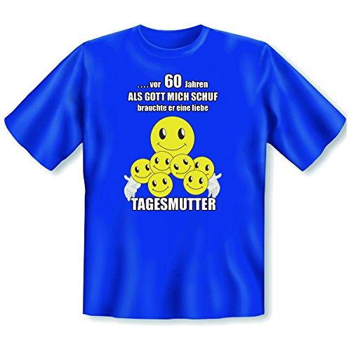 originelles und witziges T-shirt zum 60. Jahre Geburtstag Farbe: royal-blau Royal-Blau