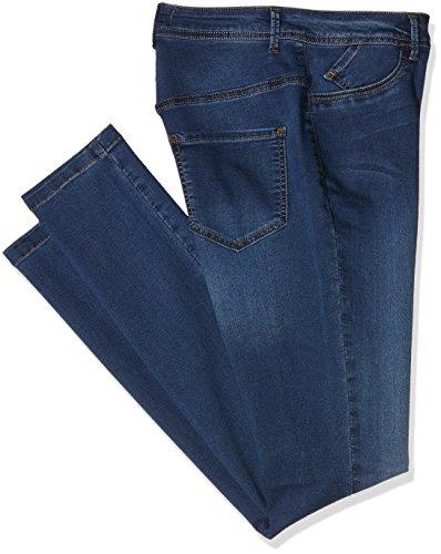 Zizzi Damen Slim Jeanshose, Blau (Blue d. washed 1057), 48W/86L (Herstellergröße: 48) Preisvergleich