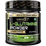 MuscleXP Micronized L-Glutamine Powder - 300Gm (10.6 Oz) Unflavored