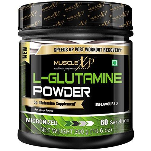 MuscleXP Micronized L-Glutamine Powder - 300 g